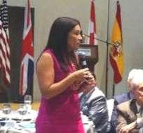 GUAYAQUIL, Ecuador.- La ministra de la Producción, Nathalie Cely resaltó que los beneficios serán a 10 años. Foto: Twitter Ministerio de la Producción