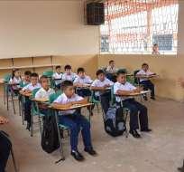 ECUADOR.- El año lectivo del ciclo Costa podría culminar en diciembre de este año a causa del fenómeno de El Niño. Foto: Archivo