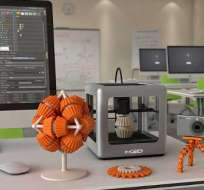 MADRID, España.- Esta revolucionaria tecnología permite crear literalmente a través de su impresión en 3D cualquier tipo de objeto con tan sólo 1 clic. Foto: Teknlife.com