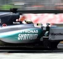MONZA, Italia.- El británico Lewis Hamilton (Mercedes) partirá desde la pole position el domingo en el Gran Premio de Italia de Fórmula 1: Foto AFP