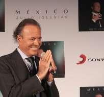 """MÉXICO.- """"Este es el último disco de mi vida grabado en un estudio"""". Foto: EFE."""