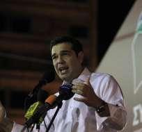 El líder de Syriza, ganador con el 35,47 %, recibe el cargo este 21 de septiembre. Foto: EFE