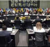 Los cancilleres y ministros de Medio Ambiente se reunirán en Quito el 5 y 6 de noviembre.