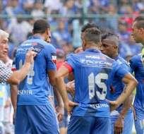 Emelec se desplazó a Colombia con la esperanza de conseguir la clasificación en la Copa Sudamericana.
