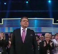 """""""Sábado Gigante, hasta siempre"""", fueron las últimas palabras de Don Francisco. Foto: Univisión"""