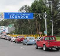 Según la Cámara de Comercio de Ipiales, casi 10 mil vehículos menos ingresaron a la zona. Foto: Web