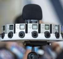 La cámara está compuesta por 16 GoPros que graban a 30 cuadros por segundo. Foto: Web