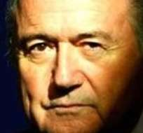 BERLÍN, Alemania.- Blatter ha sido muy cuestionado por supuestos actos de corrupción en la FIFA. Foto: EFE.