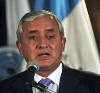 Expresidente de Guatemala Otto Pérez Molina conocerá el 8 de septiembre el veredicto de su caso. Foto Archivo