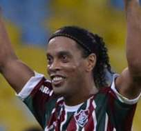 RÍO DE JANEIRO, Brasil.- Ronaldinho duró poco tiempo en el Flu. Foto: Archivo.