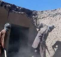 El terremoto de 7,5 grados con epicentro en Badakhshan golpeó también al vecino Pakistán. Foto: AFP