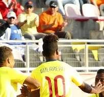 TALCA, Chile.- La Sub 17 venció a Honduras. Foto: AFP.