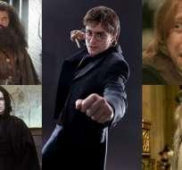 INGLATERRA.- La autora de la popular saga despeja dudas sobre Hagrid, Ron, Draco y otros personajes. Collage: Ecuavisa