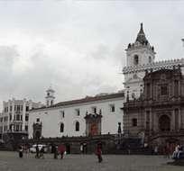 La construcción de la iglesia y convento de San Francisco inició alrededor del año 1537, tres años después de la fundación de la ciudad. Foto archivo
