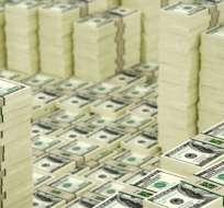 El dinero fue girado a un fondo especulativo de EE.UU, y recuperado al día siguiente.