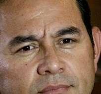 """Jimmy Morales aseguró que pese a su inexperiencia como funcionario, podrá gobernar """"con la ayuda de Dios y del pueblo"""". Foto: Archivo"""