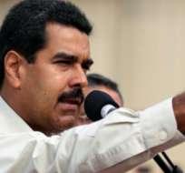 CARACAS, Venezuela.-El presidente Nicolás Maduro se comprometió a aceptar los resultados electorales. Foto ministerio comunicación Venezuela