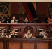 QUITO, Ecuador.- Hoy se debate el proyecto de Ley Orgánica de Incentivos para las Asociaciones Público-Privadas y la Inversión Extranjera. Foto: Asamblea Nacional