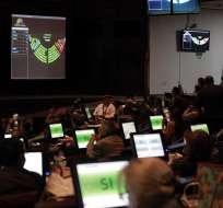 QUITO, Ecuador.- El proyecto económico urgente fue aprobado con 96 votos a favor, 24 en contra y 1 abstención. Foto: Asamblea Nacional