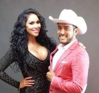 Tania Reza y Enrique Tovar fueron reincorporados a Televisa. Foto tomada del perfil de Facebook de Tania Reza