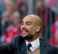 MÚNICH, Alemania.- Guardiola podría levantar más coronas en la Bundesliga. Foto: EFE.