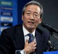 Chung Mong-Joon se encuentra suspendido por seis años y eso impide que se presente como candidato a las elecciones de la FIFA.