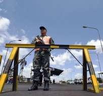 Son más de dos millones de galones para garantizar el abastecimiento en varias zonas. Foto: AFP