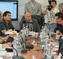 ECUADOR.- El asambleísta Oswaldo Larriva dijo que hoy en la comisión se analizarán varias de las observaciones. Foto: Asamblea Nacional