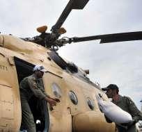 Hasta el momento se reportan cerca de 300 muertos en Pakistán y Afganistán. Foto: AFP