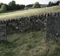 Las lápidas en Eyman son testimonio del heroico sacrificio de un pequeño pueblo del norte de Inglaterra.