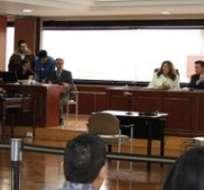 QUITO, Ecuador.- El Tribunal declaró inocente a Walter de la T. debido a que la Fiscalía se abstuvo de acusarlo. Foto: Fiscalía Ecuador.