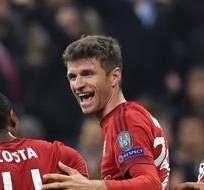 MÚNICH, Alemania.- Bayern se tomó la revancha de la derrota en Londres. Foto: EFE.