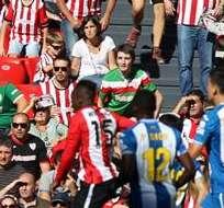 BILBAO, España.- En San Mames ganó el Athletic. Foto: EFE.