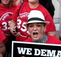 Organizaciones sindicales protagonizaron manifestaciones por todo EE.UU. Foto: EFE