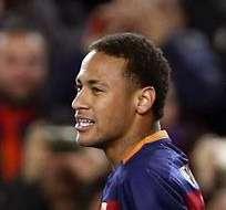 BARCELONA, España.- Neymar le sirvió un banquete a Messi. Foto: EFE.