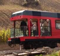 Los trenes turísticos del país registraron una ocupación superior al 90 % en promedio. Foto: Trenecuador.com