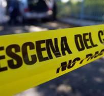 La víctima fue asesinada por varios hombres al salir de un sitio de baile, según testigo. Foto: Referencial / Laprensa.hn