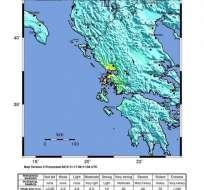 Esta mañana, la isla griega de Lefkada fue sacudida por un terremoto de 6,1 grados. Foto: EFE