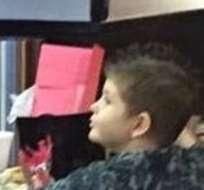 El pequeño tuvo su primera cita con Ayla, su novia y el gran amor de su vida.