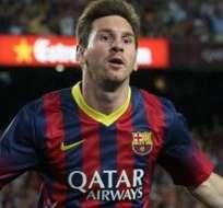 PARÍS, Francia.- Messi podría ganar el premio Puskas al mejor gol del año.