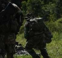 Foto referencial sobre militares ecuatorianos.