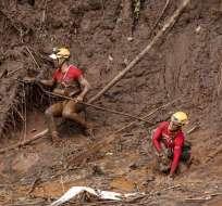 El accidente minero de Brasil fue la avalancha más grave del mundo en una década. Foto: EFE