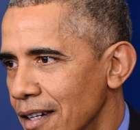 Barack Obama cree que Bachar al Asad, presidente de Siria, debe dejar el poder.  Foto: AFP