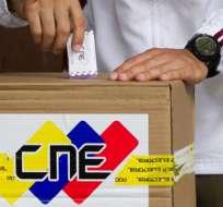CARACAS, Venezuela.-Autoridad electoral no puede dar una hora para ofrecer los resultados de las votaciones. Foto tomada de Vistazo