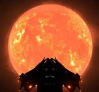 """CHILE.- Un grupo de astrónomos pudo observar a Betelgeuse """"tal como la vería el ojo humano. Foto: Internet"""
