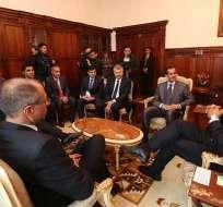ECUADOR.- Empresarios cataríes se reunirán durante la semana con representantes del Ejecutivo. Foto: Presidencia de la República