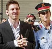 La justicia española decidió archivar la causa en contra de Lionel Messi y su fundación por presunto fraude fiscal. Foto archivo