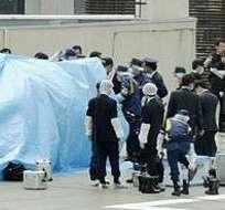 En abril, un drone con una sustancia radioactiva aterrizó en la oficina del primer ministro de Japón.