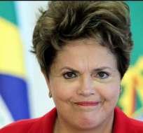 El proceso podría poner fin al mandato de la presidenta brasileña. Foto Archivo