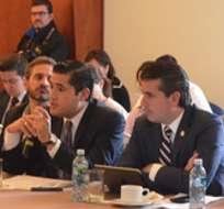 CUENCA, Ecuador.- La generación de créditos al 8, 3% de interés para que los empleadores paguen sus obligaciones retrasadas es uno de los beneficios ofrecidos. Foto: Tw Ministerio Producción Ec.